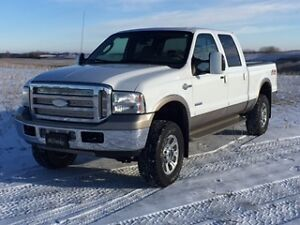 Reduced 2006 Ford F-350 kingranch FX4 4x4 diesel great cond