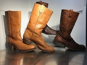 BOOT SIZE 12 MENS / ONE NEW ONE USED