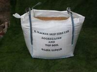 sand/and gravel/£32 a bulk bag
