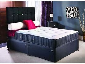 Order Today Deliver Today BRAND NEW Factory Wrapped Double Bed and Mattress From £ 99