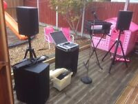 PA System for small band or Solo Artist £500 ono