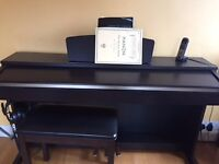 Yamaha Clavinova Digital Piano with stool