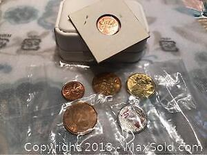 Canadian Coins Small Group Of Modern Canadian Coin