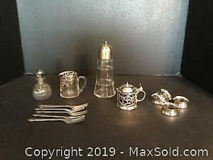 Silver Plate Lot 1 (A)