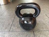 20KG Body Power Cast Iron Kettle Bell (Black)