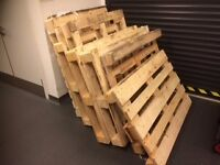 Free Wooden Pallets x 8 (Various sizes)