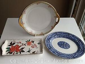 Vintage Limoges Plate And More Fine China
