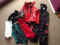 Size 8-10 ladies ski wear bundle