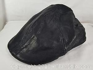Danier Leather Cap Size Medium Large With Lining
