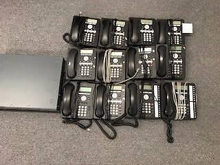 Avaya IP  Phone System - 12 Handsets
