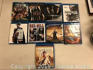 Lot Of Nine Blue-Ray Movies