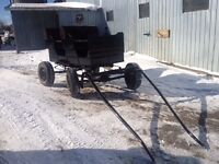 2 Seater horse buggy
