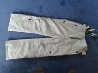 Ladies ski trousers .TRESPASS size36-38 waist.Never been worn.