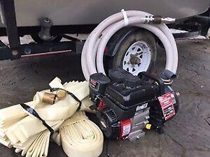 Pompe à eau PACER à essence