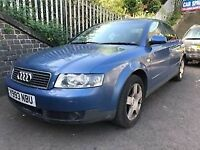 Audi A4 2.0 Petrol 2001 Blue 5dr Breaking For Spares - wheel nut