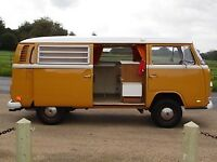 VW Westfalia Bay Window 1972 Camper van