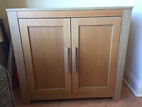 Wooden Cupboards in Excellent Condition x 2