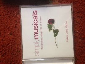 simply musicals CDs