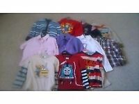 BABY BOY CLOTHES Shirts T-Shirts Tops Jeans Jumpers 1-2, 2-3 & 3-4 Years NEXT MOTHERCARE, ADAMS M&S