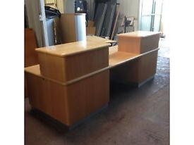 Large Reception Desk - Free Standing