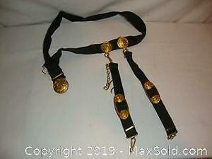 Russian Navy military officer belt. Rare