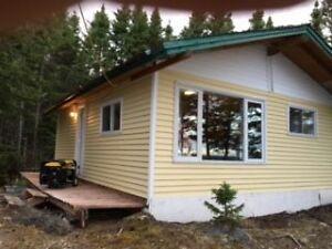 Gander Lake Remote Cabin