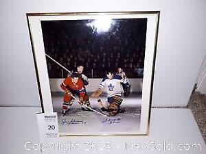 Autographed Hockey Picture