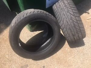 2 TIRES FOR SALE/EAGLE F1 RUN FLATS