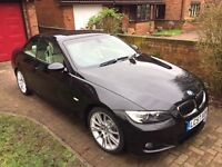 BMW 330i Convertible - low mileage, immaculate condition, full service history with receipts, 2 keys