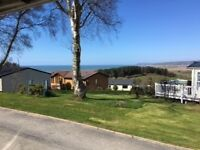 Cheap 3 bedroom caravan for sale including all 2017 site fees in Borth on the west Wales coast