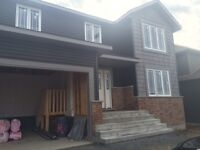 Brand new 2 storey home in Garson presently being built!