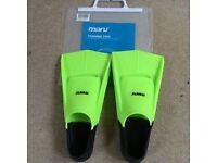 Maru Silicone Swim Training Fins / Flippers