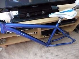 Mountain Bike Frame. Voodoo Hoodoo, Custom paint.