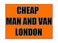 cheap man and van ..from £20 per hour.....