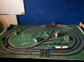 Train set layout