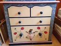 Wardrobe, Drawers and Toybox