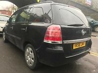 Vauxhall Zafira 2006 1.9 Diesel Black Breaking For Spares - wheel nut