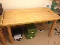 Free Solid Wood Table
