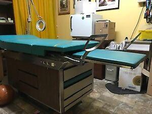 table d'examen médical, esthétique, massage, autre