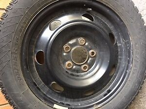 PIRELLI WINTER TIRES, W/RIMS- EXCELLENT USED CONDITION!