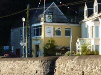 Exciting Opportunity - Bar/Catering - Seasonal - Sailing Club - Seaside Village Wales - Free bedsit
