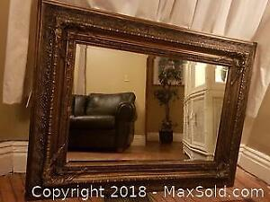 Large Decorators Mirror.