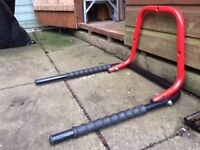 Storage bike bracket