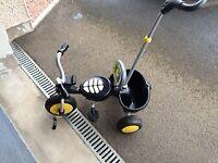 Kids Raleigh buggy trike