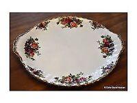 Royal Albert fine bone china cake-plate