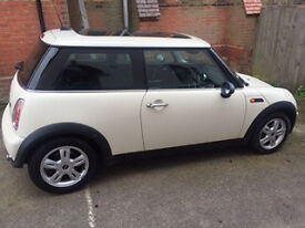 White Mini One For Sale - Great condition!!