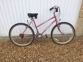 Ladies/girls bicycle in good condition.