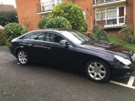 Black Mercedes CLS320 CDI Auto Diesel in very good condition