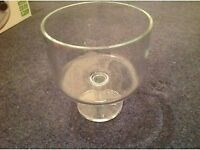 large lsa glass bowl mint condition cost over£100 sell £35 can deliver if local call 07812980350