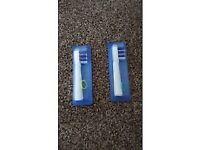2 x Oral B Toothbrush Heads